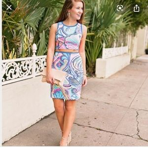 NEW NWT Lily Pulitzer Kennedy Set Medium $198